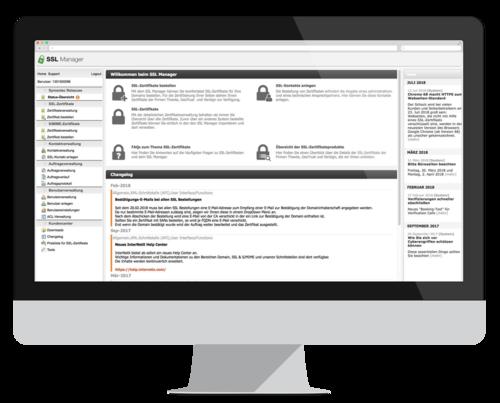 SSL Manager: Zertifikate einfach verwalten und bestellen